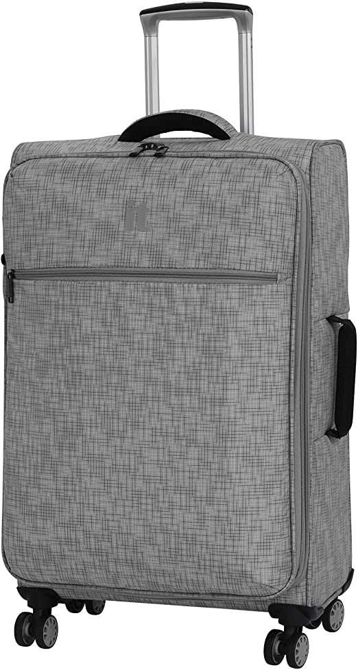 IT Luggage Stitched Squares 30.5-inch Lightweight Expandable Spinner Suitcase