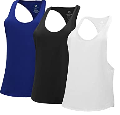 d968c5ffc8355 RUNNING GIRL Activewear Workout Jogging Sports Tank Top Women s Long  Moisture Wicking Breathable Hooded Vest