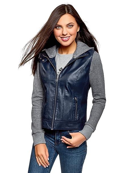 Sofia Giacca in Jeans, Blu , 48 Donna