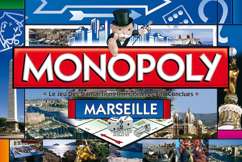 Winning Moves Monopoly Marseille - Juego de Mesa (Contenido en francés) [Importado de Francia]: Amazon.es: Juguetes y juegos
