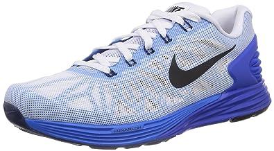 e2f5a2317230c Nike Lunarglide 6 Running Shoes Training T-Shirt Blue Size  8.5 UK ...