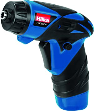 HILKA 3.6V LITHIUM RECHARGEABLE BATTERY CORDLESS SCREWDRIVER DRILL /& 12 BITS