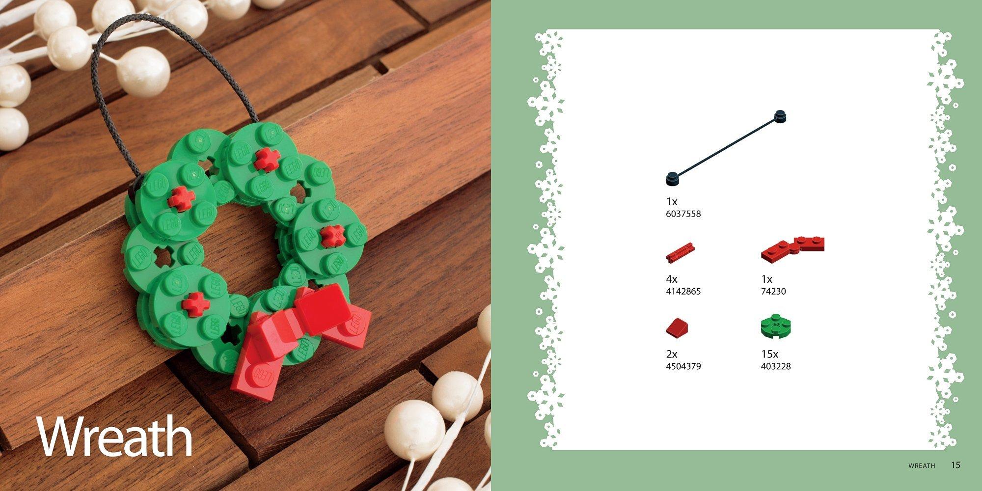 Camera christmas ornaments - The Lego Christmas Ornaments Book 15 Designs To Spread Holiday Cheer Chris Mcveigh 9781593277666 Amazon Com Books