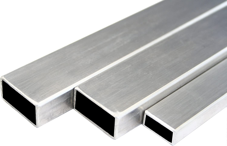 E235-60x30x2mm EN 10305-5 L= 500-2000mm 500mm Rechteckrohr Stahlrohr Vierkantrohr
