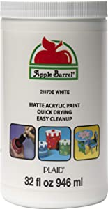 Apple Barrel White Paint