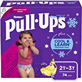 Pull-Ups Cool & Learn Potty Training Pants for Girls, 2T-3T (18-34 lb.), 74 Ct. (Packaging May Vary)
