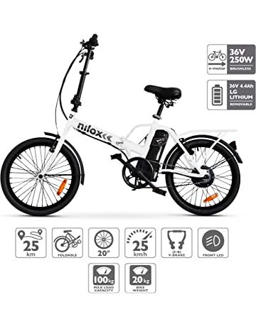 95c3e841513 Nilox E Bike X1 New, Electric Bike, White, One Size