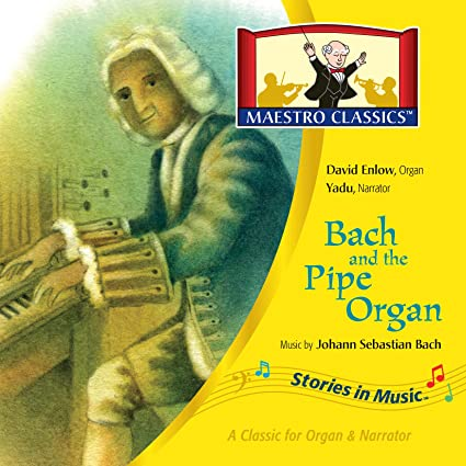Bach and the pipe organ music by Johann Sebastian Bach. cover