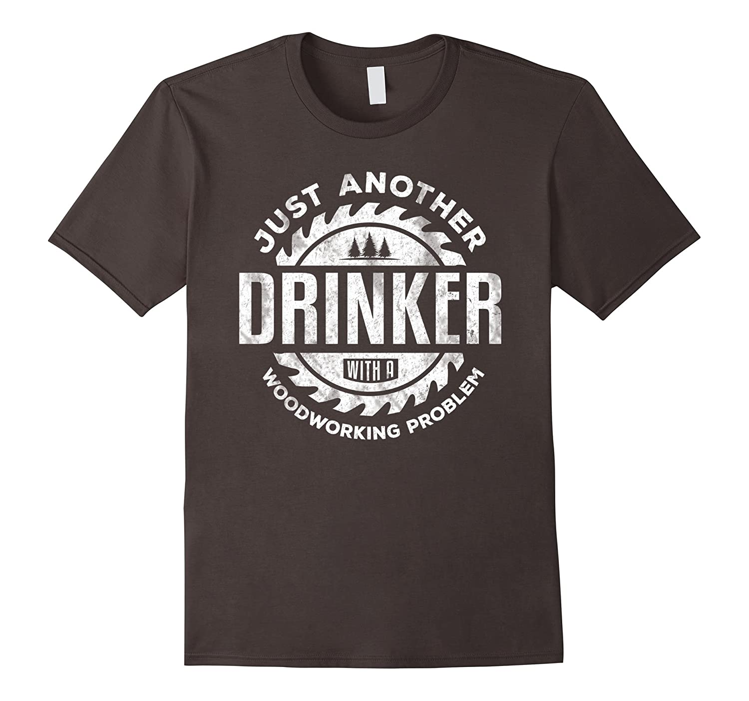 Woodworking Shirt Just Another Drinker Gift Carpenters Shirt-Vaci