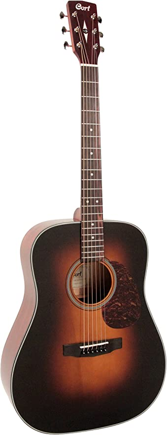 Cort earth300vfsb – Guitarra electroacústica: Amazon.es ...