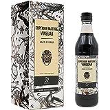Soeos Chinkiang Vinegar, Mature Aged Black Vinegar, Chinese Black Vinegar, Zhenjiang Vinegar, 16.9 fl.