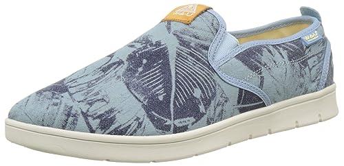 WAU WC96048 - Zapatillas de Deporte de Lona Hombre, Azul (Azul (Sky Blue C31908)), 42 EU: Amazon.es: Zapatos y complementos