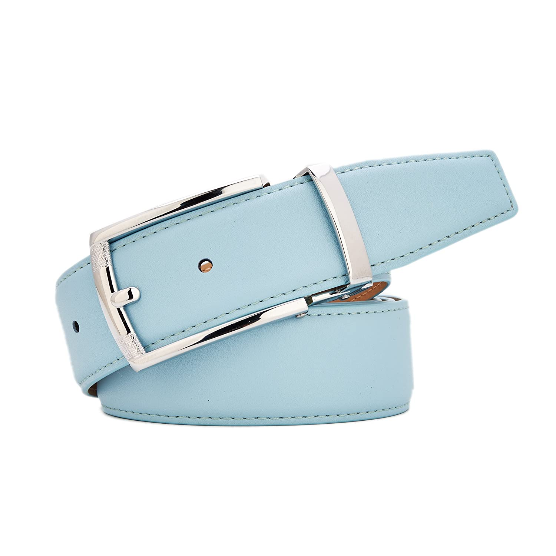 Gurscour Cinturones para hombres Cintur/ón de cuero Ancho 35mm