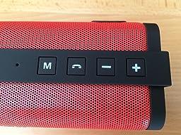 Reacher Enceinte Bluetooth Haut Parleur Bluetooth Sans Fil Portable 10W Puissante Mains Libres