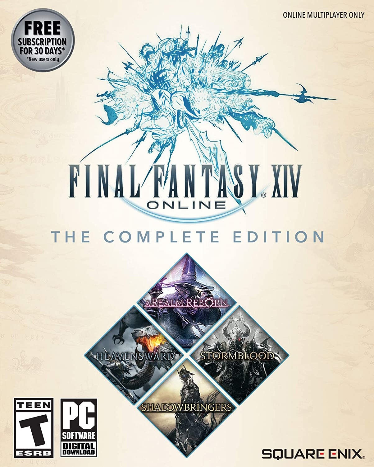 Amazon com: Final Fantasy XIV Online - Complete Edition [Online Game
