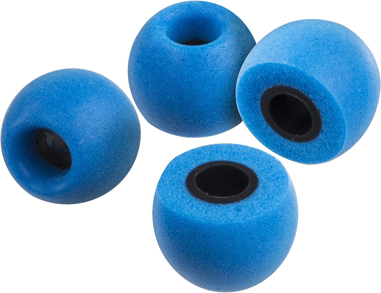 - Color Juego de 8 Piezas Azul Xcessor Tapones Comodos de Espuma para Auriculares 4 Pares
