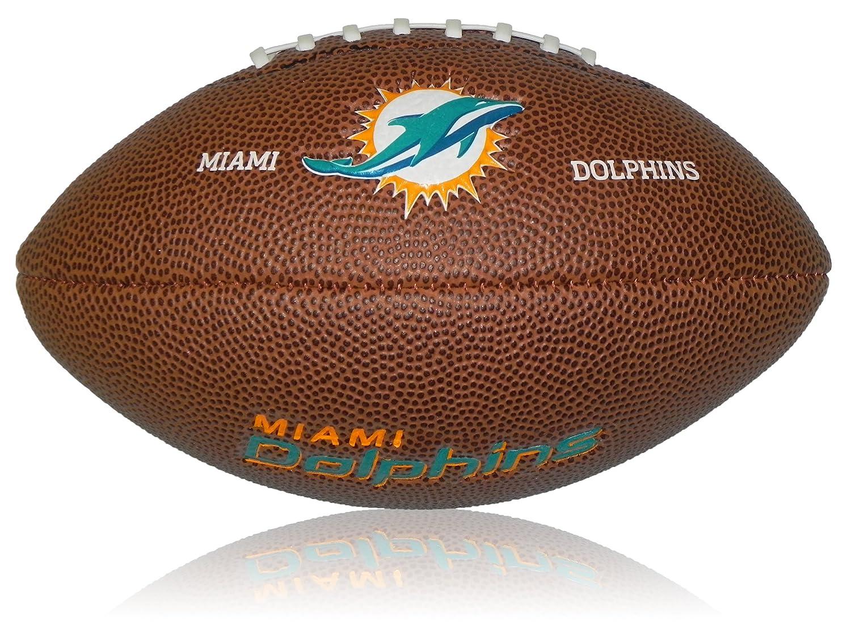 Wilson NFL Mini Miami Dolphins Logo ballon de football amé ricain