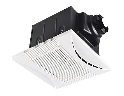 What Is Cfm >> Tech Drive Super Quiet 90 Cfm 0 8 Sone Bathroom Ventilation And