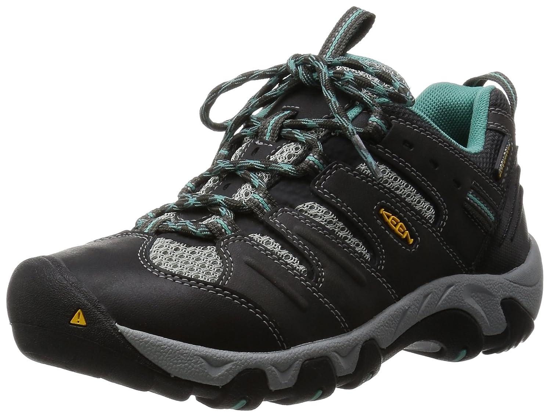 KEEN Women's Koven Hiking Shoe B00ZG31QYU 5.5 B(M) US|Raven/Lagoon