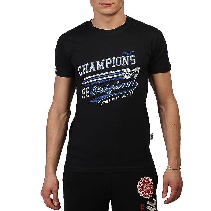 Camiseta Marshall Original TS 2585 negro - hombre - M: Amazon.es: Ropa y accesorios