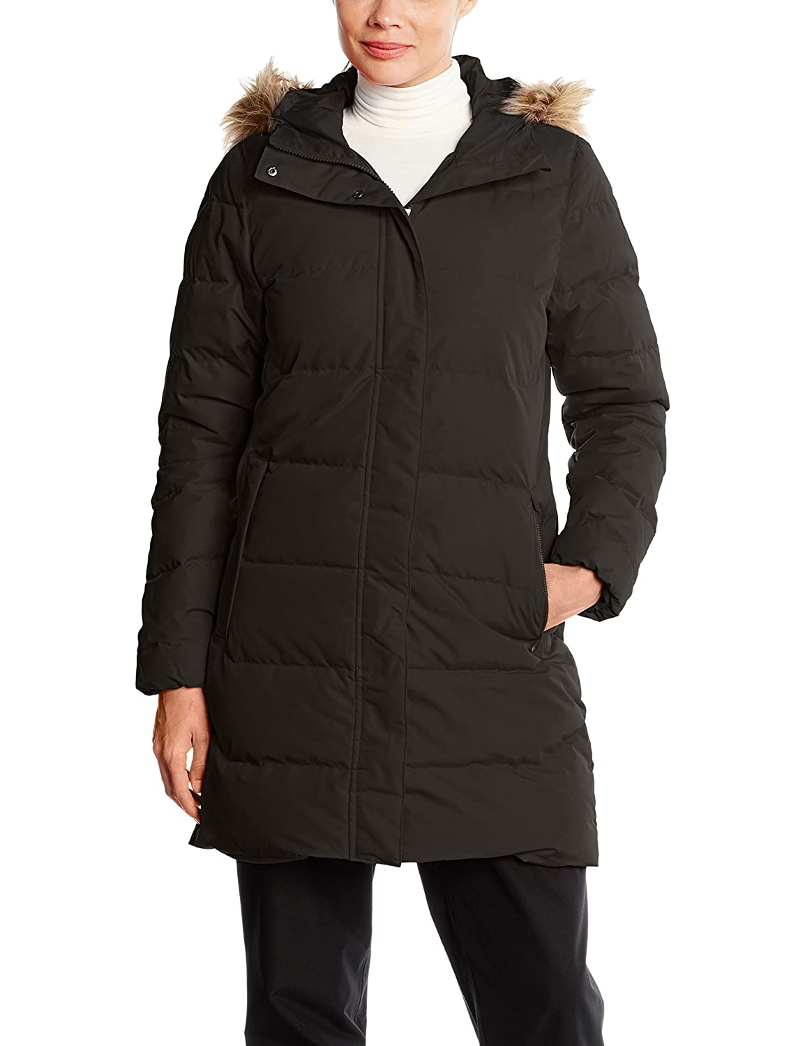 990 Black Helly Hansen Women's Aden Down Waterproof Windproof Breathable Parka Coat Jacket with Hood