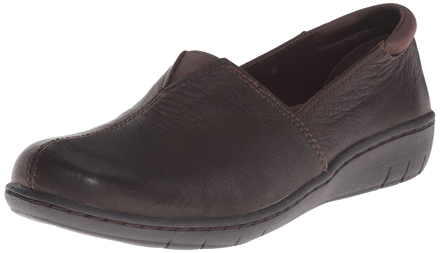 Skechers Women's Washington Seattle Slip-On Loafer B00XNSAC8G 6.5 B(M) US|Dark Brown