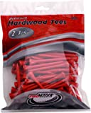 ProActive Sports Sports 2 3/4-Inch Tees, (100/Package)