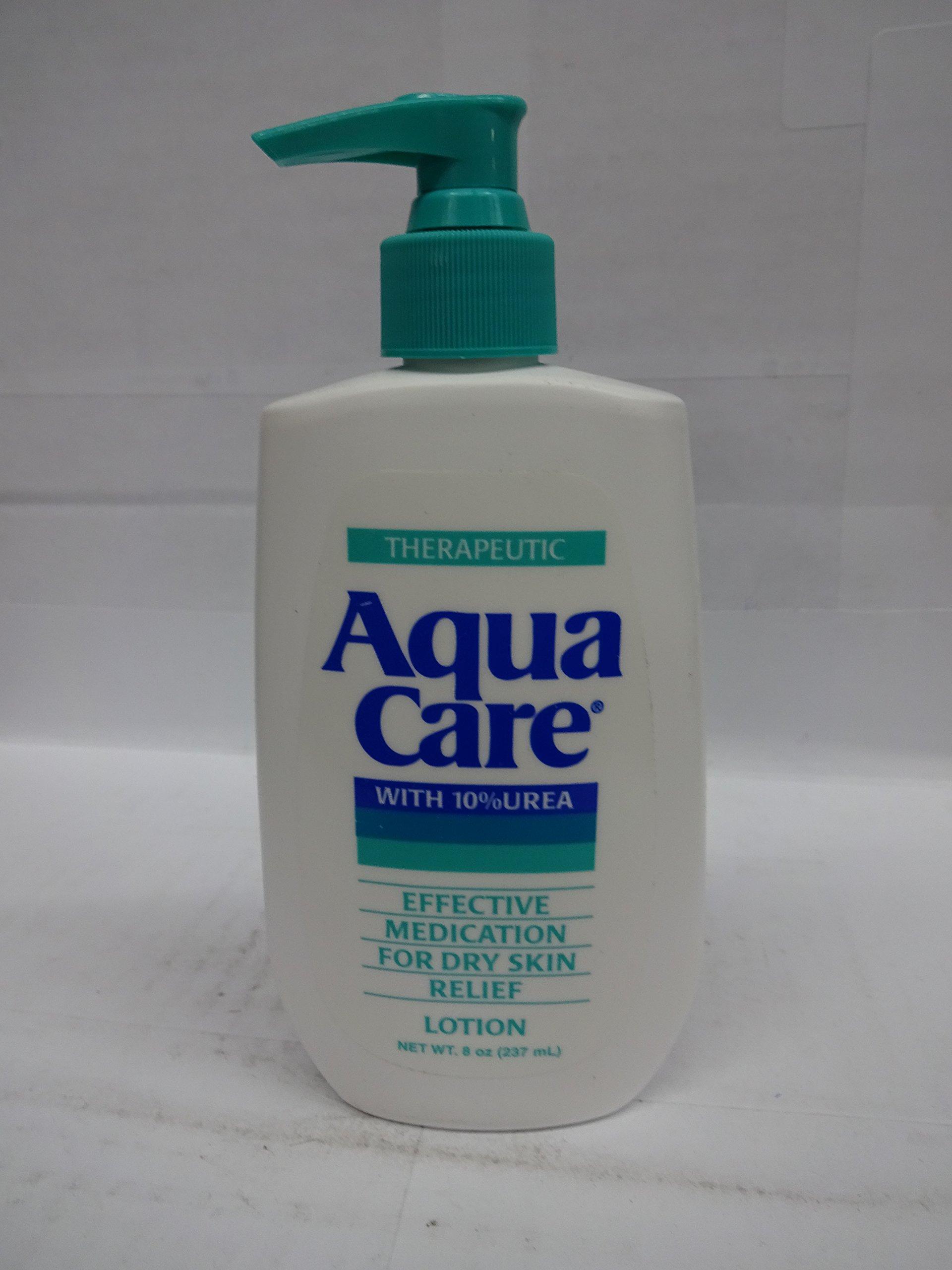 Aqua Care Lotion For Dry Skin, With 10 Percent Urea - 8 Oz, 2-pack