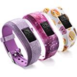 Compatible with Garmin Vivofit JR Bands for Kids, Colorful Adjustable Silicone Replacement Bands Wristband Straps…