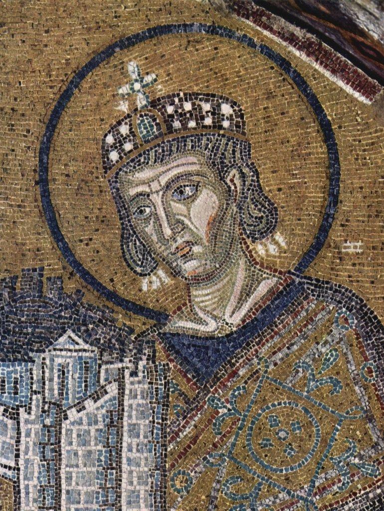 Lais Puzzle Byzantinischer Mosaizist Um 1000 - Maria als Stadtheilige Istanbuls 2000 Teile