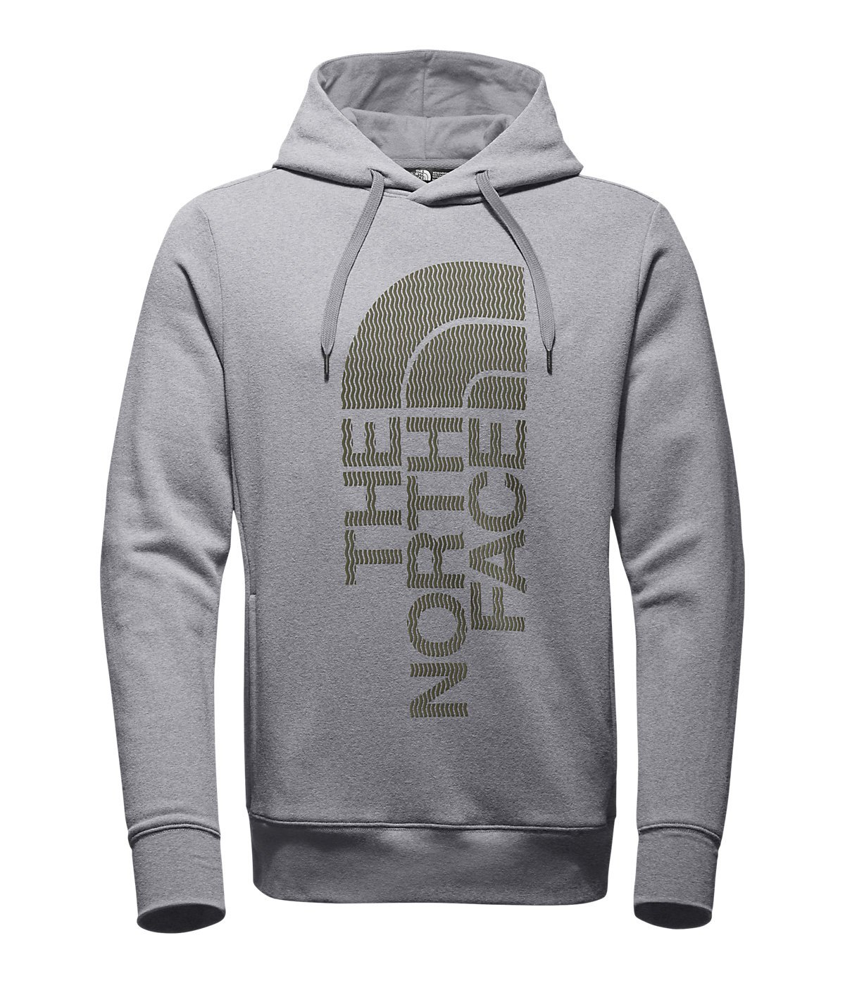 29d739c1e The North Face Men's Trivert Pullover Hoodie, TNF Light Grey Heather/Burnt  Olive Green, XX-Large