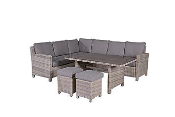 Garden Impressions Lounge/Dinner Set, 5 Teiligeu0026quot;BOGOTAu0026quot;   Outdoor  Gartenmöbel