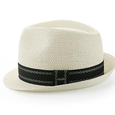 Amazon.com  Sedancasesa Unisex Fedora Straw Sun Hat Paper Summer ... b5d52896fa8