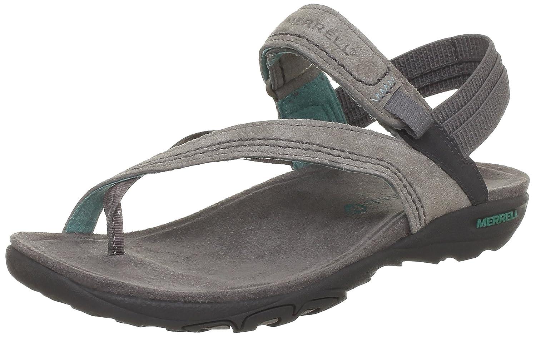 Black merrell sandals - Amazon Com Merrell Women S Mimosa Clove Sandal Drizzle 9 M Us Flats