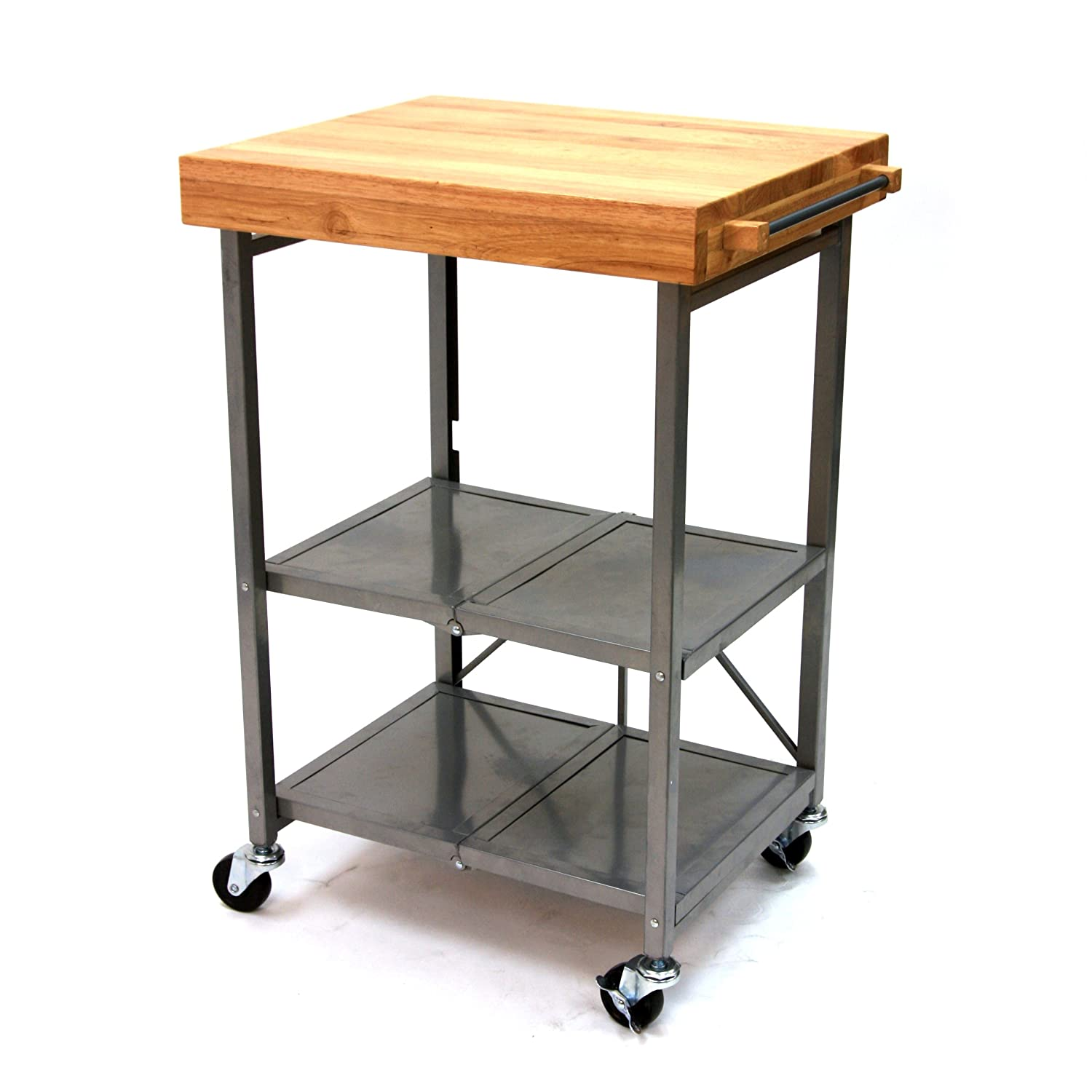 origami rbt 02 kitchen cart   kitchen storage carts   amazon com  rh   amazon com