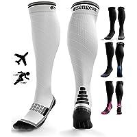 Compression Socks for Men & Women (20-30 mmHg) - Pro Sports - Anti DVT Varicose Vein Stockings - Running - Shin Splints…