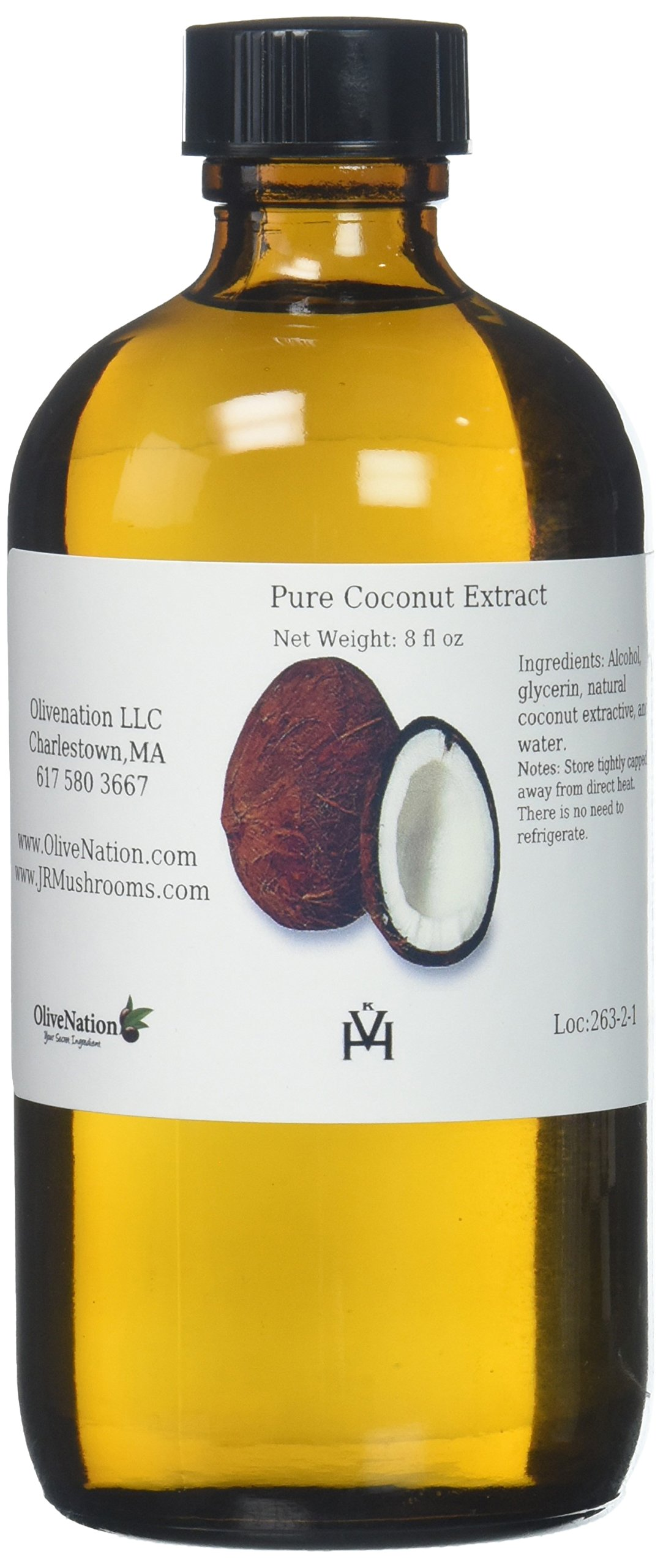 Pure Coconut Extract, 8 Ounce