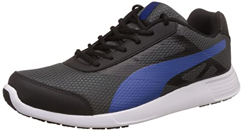 timeless design 03045 66ff9 Puma Men s Magneto Idp Black, True Blue and Dark Shadow Running Shoes - 7 UK