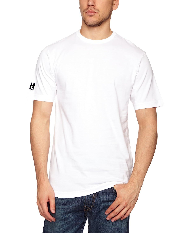 Helly Hansen Crew Camiseta para hombre color rojo talla L