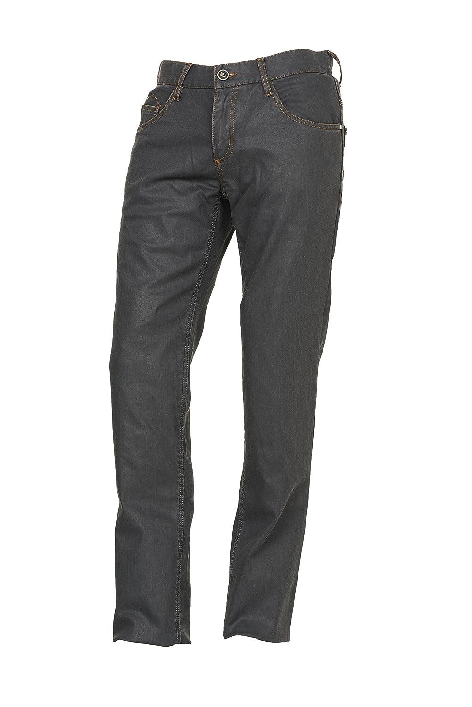 Esquad MILO REGULAR Pantaló n de Vaquero para Moto, Black, Talla 32 31319