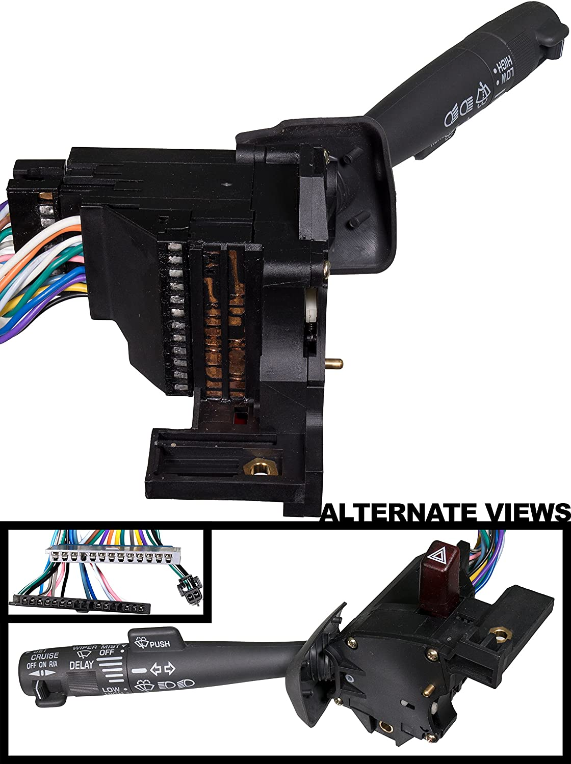 amazon com apdty multi function combination switch with turn 1987 Winnebago 22e Wiper Cruse Signal Wiring Diagram amazon com apdty multi function combination switch with turn signal wiper washer hazard switch and cruise control for models with tilt steering automotive