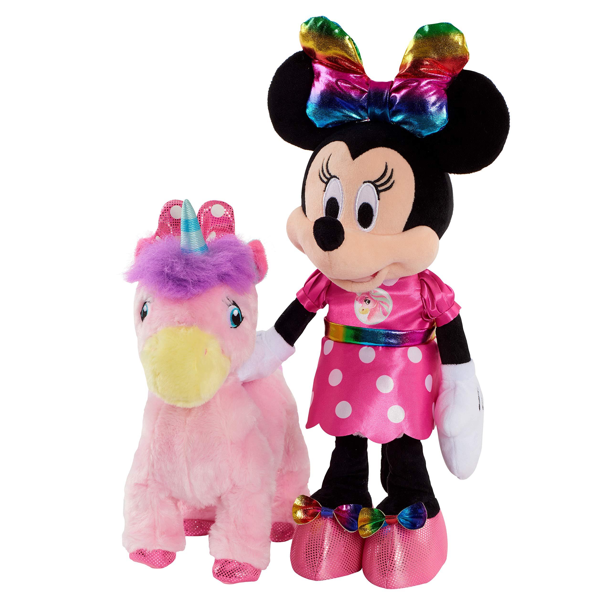 Minnie Walk & Dance Unicorn Feature Plush by Minnie Mouse