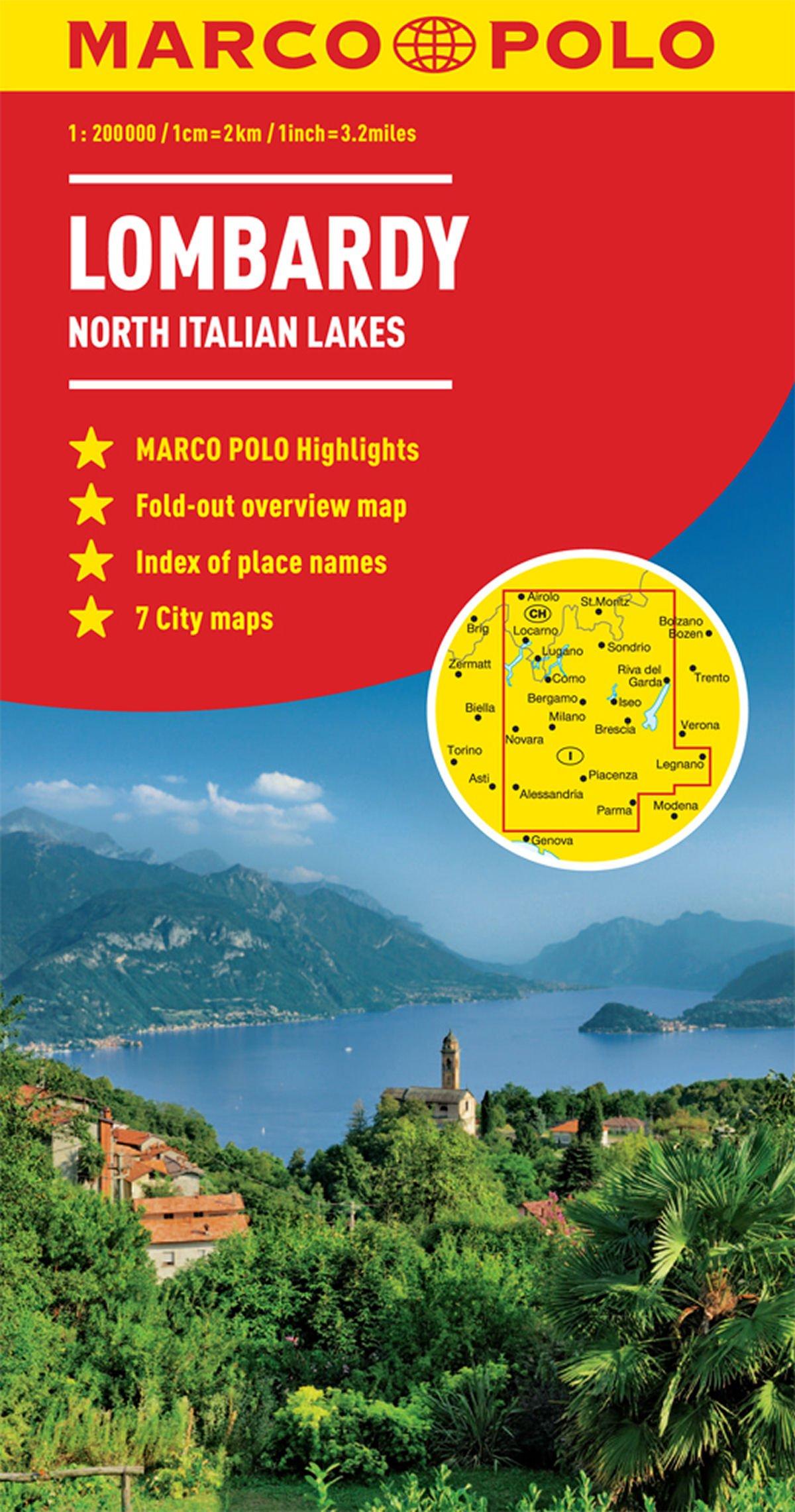 Lombardy Marco Polo Map (North Italian Lakes) (Marco Polo Guide) pdf epub