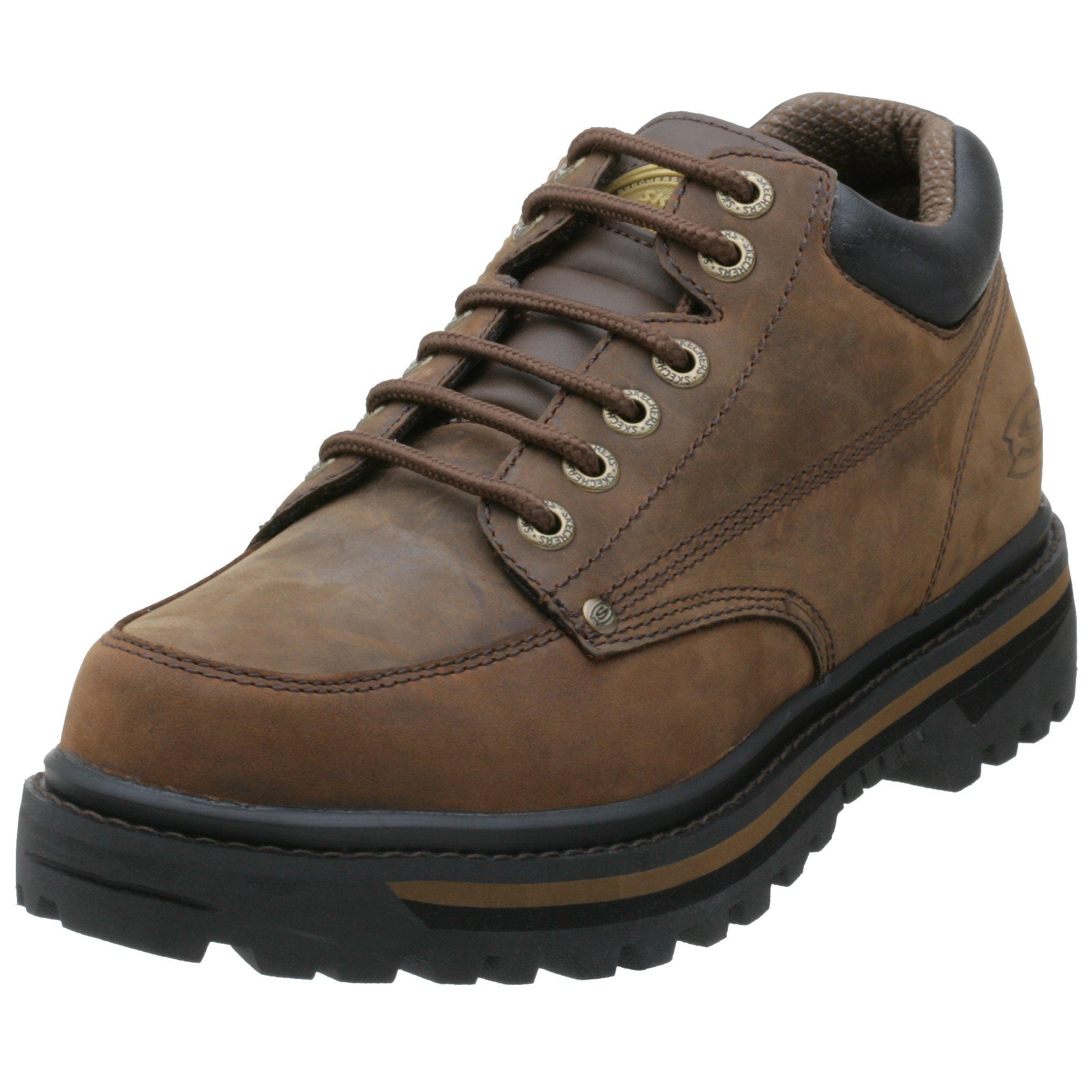 Skechers Men's Mariner Low Boot,Dark Brown,10.5 M US by Skechers