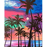 5D Diamond Painting Kits for Adults Diamond Painting by Number Kits Adults Round Drill Arts Craft Wall Decor Coconut…