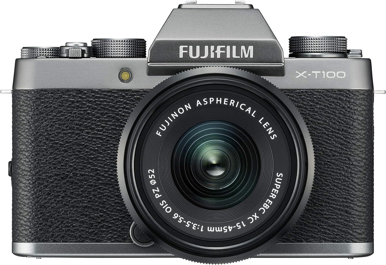 Fujifilm X-T100 + XC15-45mmPZ Appareil Numérique Argent