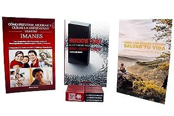 BIOMAGNETISMO Terapia Con Imanes, 3 Libros y 10 Imanes Para El Alivio Al Dolor,
