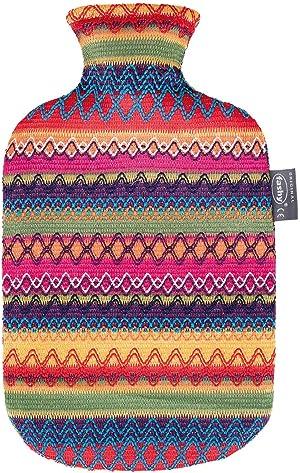 Fashy 2 L Peru-Design Cover Hot Water Bottle