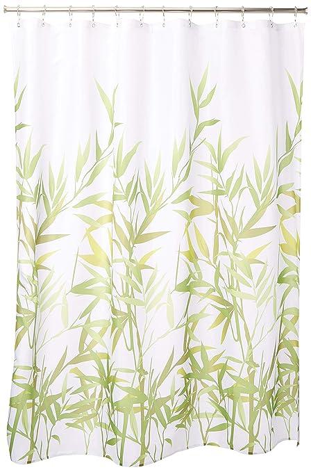 Amazon InterDesign Anzu Fabric Shower Curtain Water Repellent