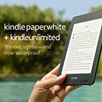 Kindle Paperwhite 8GB Now Waterproof with 2x the Storage Deals